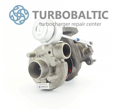 Turbocharger Turbo 454097