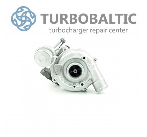 Turbocharger Turbo 53039700003