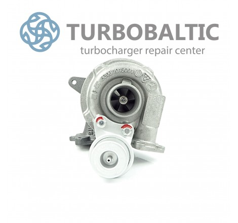 Turbocharger Turbo 53039700019