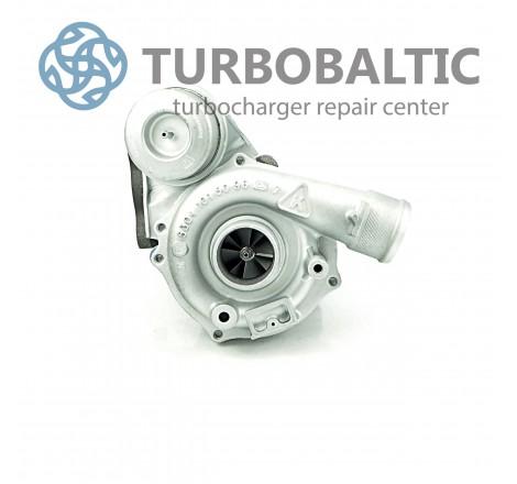Turbocharger Turbo 53039700050