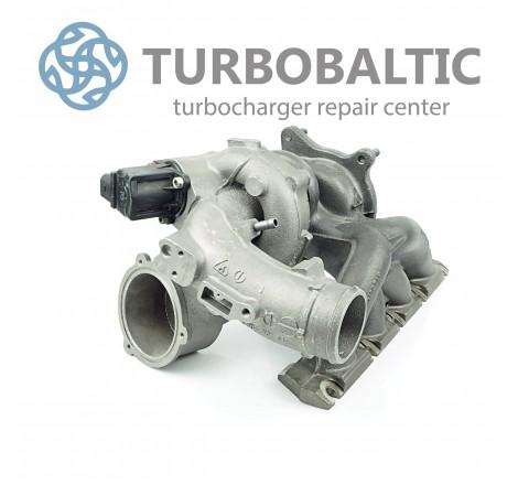 Turbocharger Turbo 53039700105