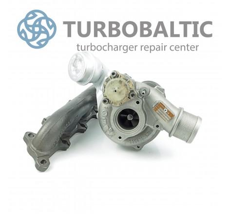 Turbocharger Turbo 53039700110