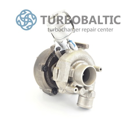 Turbocharger Turbo 454158