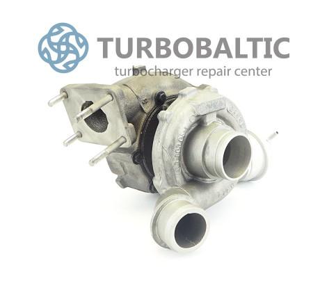 Turbocharger Turbo 454205