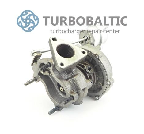 Turbocharger Turbo 701729