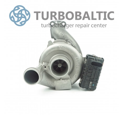 Turbocharger Turbo 757608