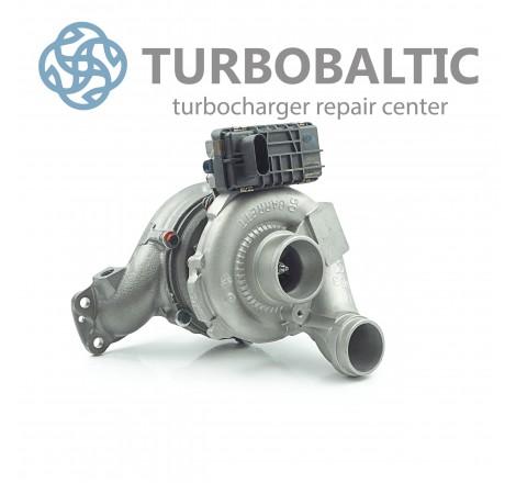 Turbocharger Turbo 777318